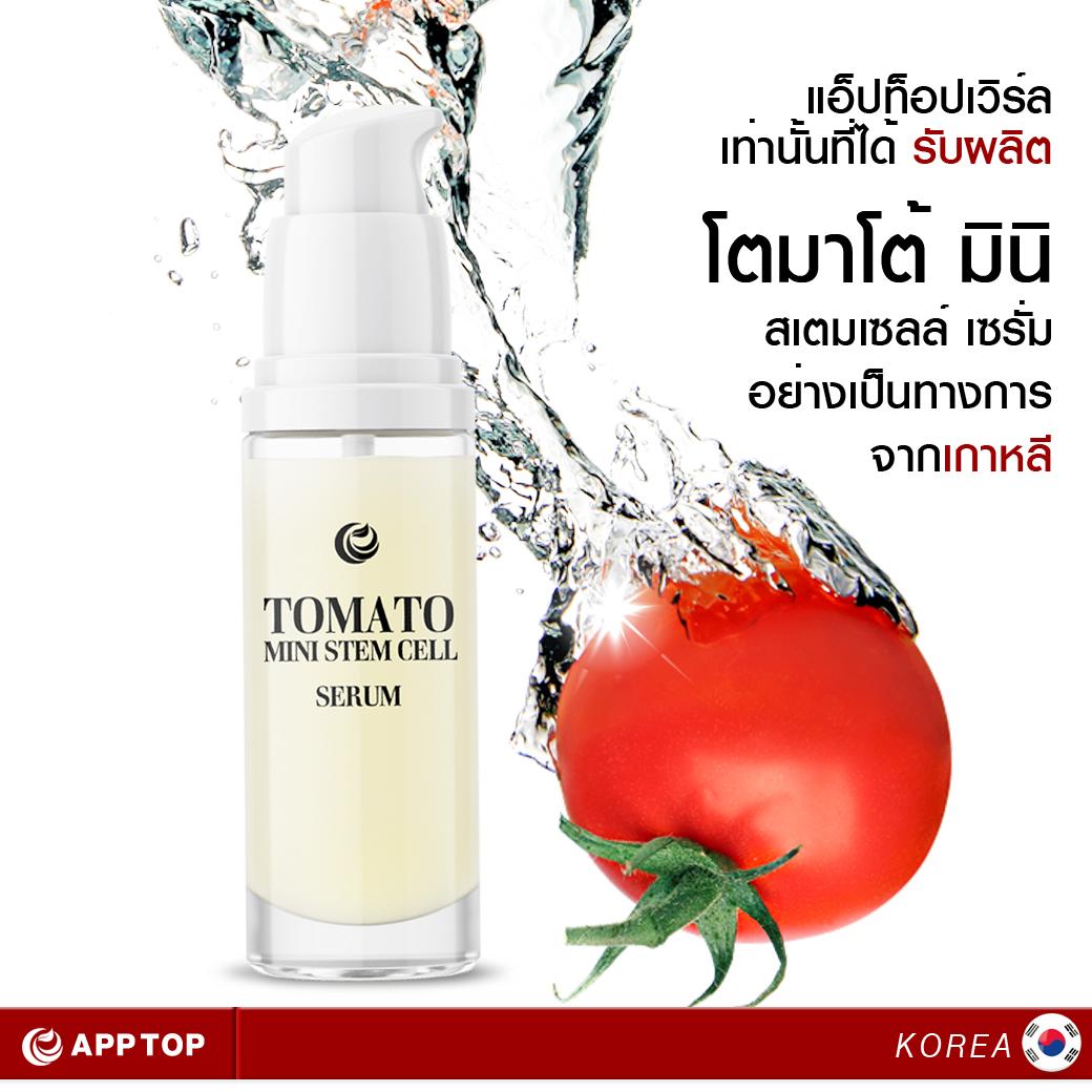 Tomato Mini Stem cell Serum โตมาโต้ มินิ สเตมเซลล์ เซรั่ม